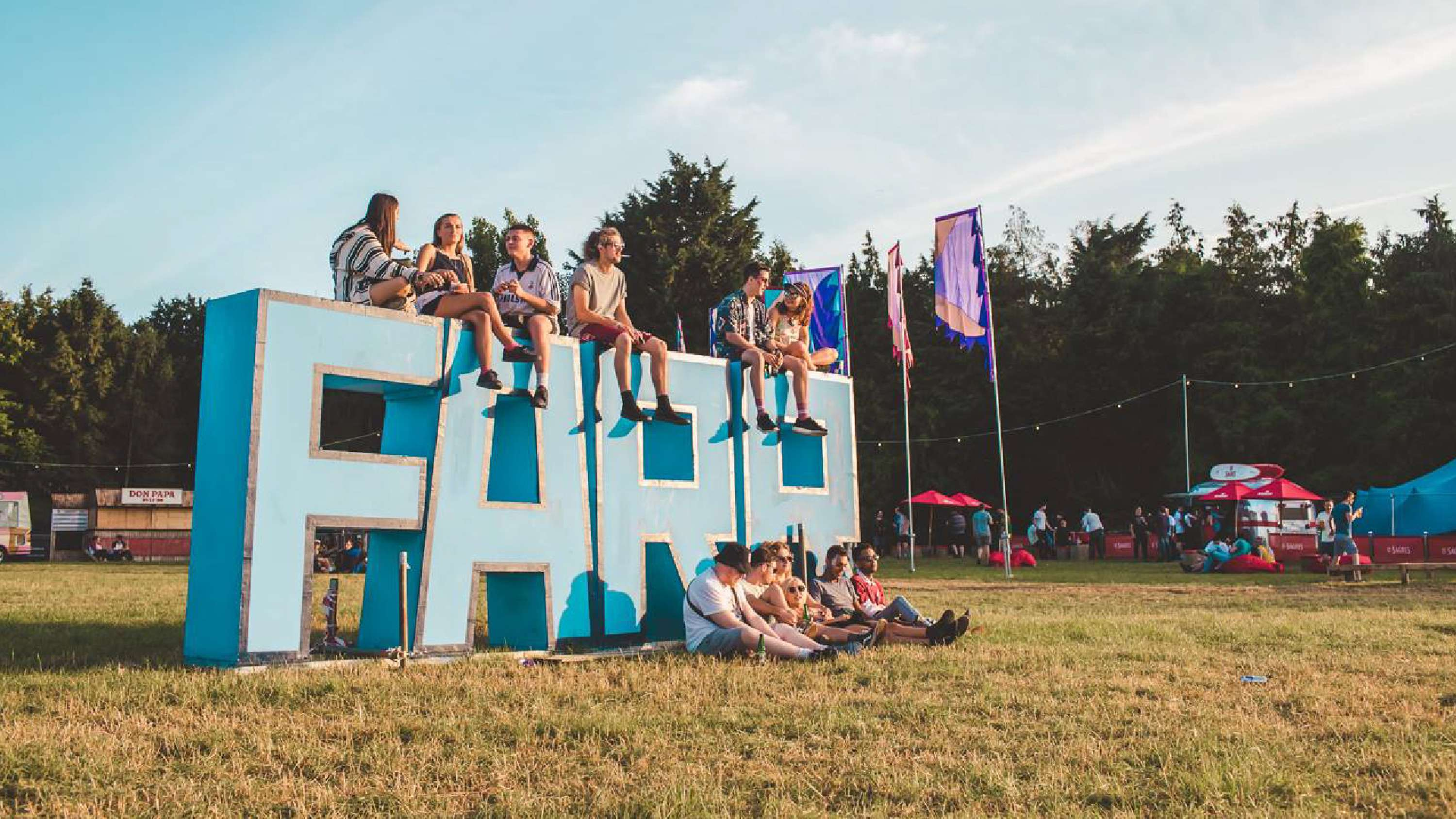 Design direction for UK electronic festival in the woods, Farr | The