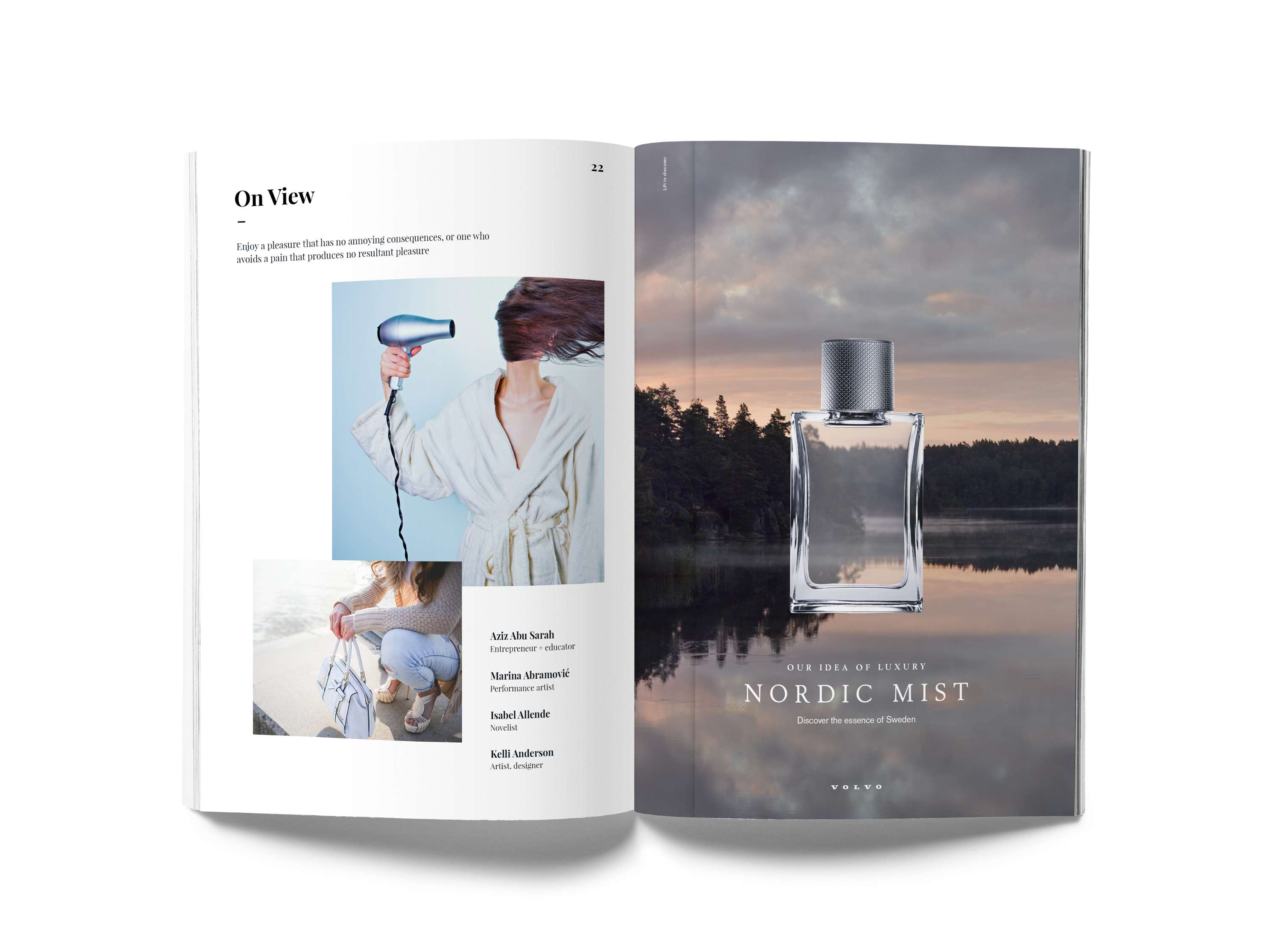 Volvo Cars – Nordic Mist Perfume (Concept) | The Dots