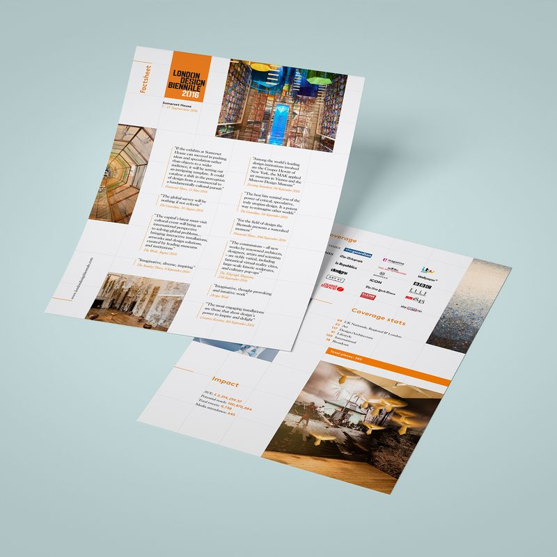 London Design Biennale factsheet