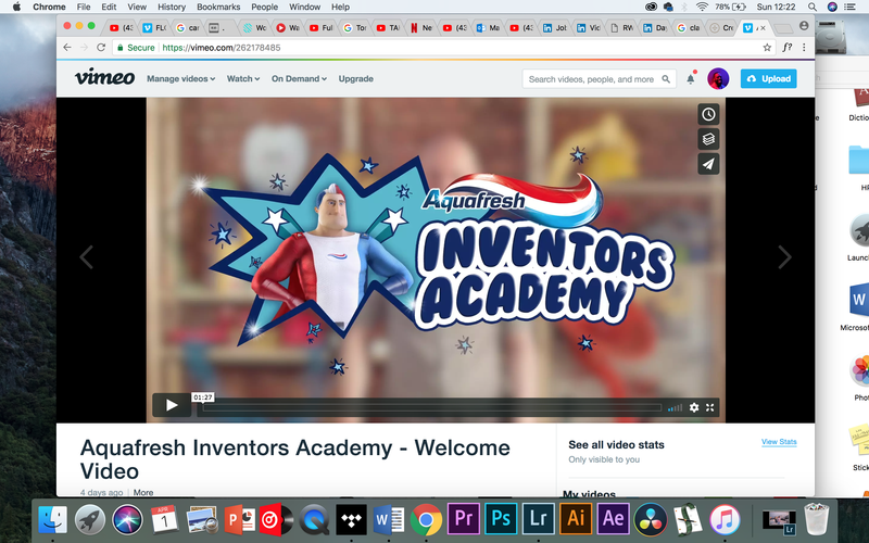 Aquafresh Inventors Academy - Welcome Video