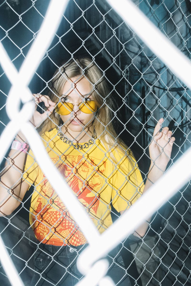 Sullen Girl: Sticks 'n' Stones Agency Editorial ft. Heba Clothing