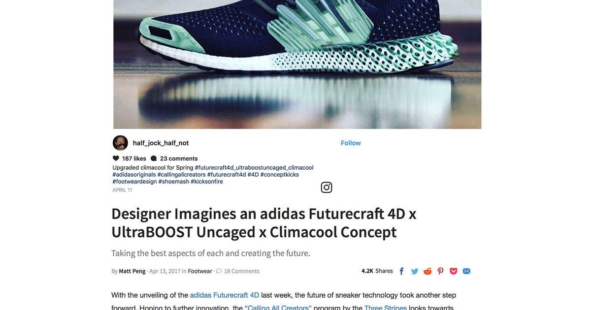 25608845bbc04 4D - Futurecraft - Uncaged - Ultraboost   Hypebeast