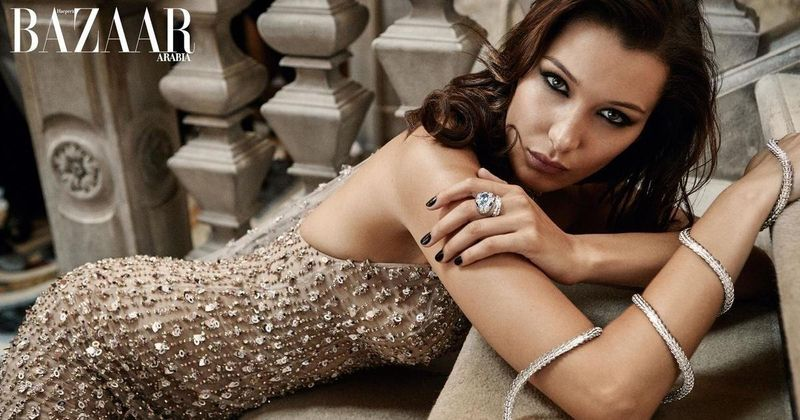 Bella Hadid X Harper's Bazaar Arabia