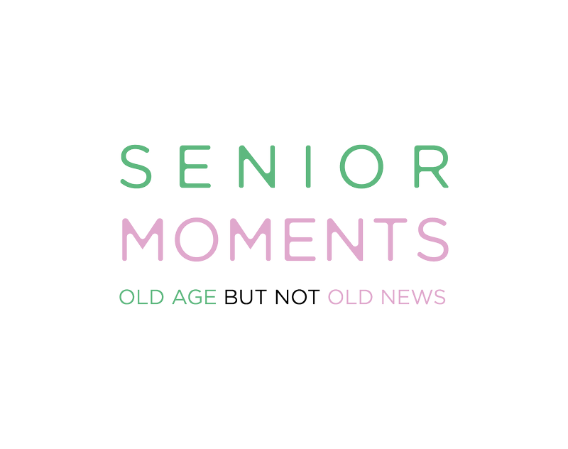 Senior Moments - Charity Campaign