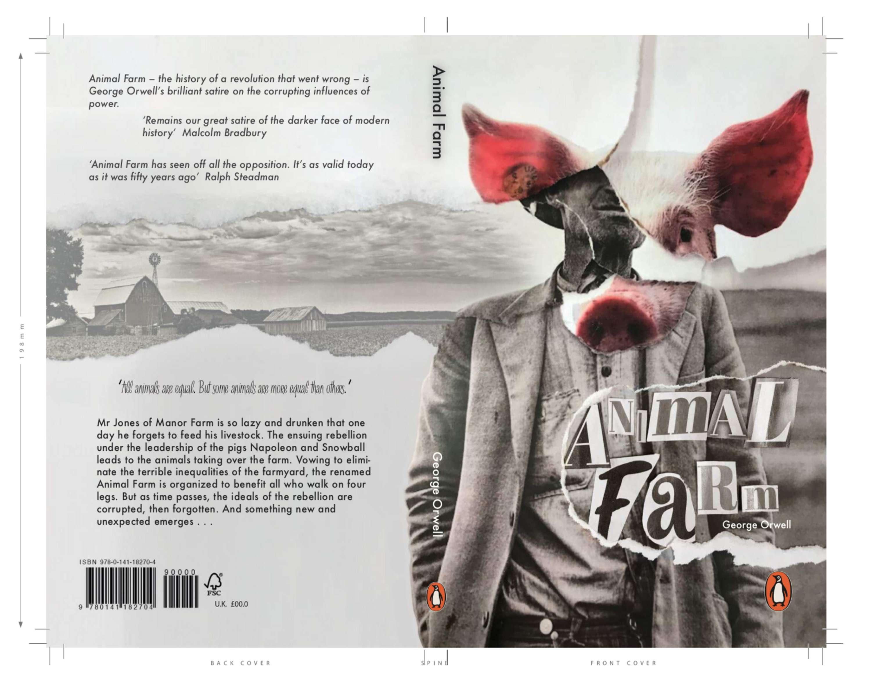 Penguin Random House Design Competition Animal Farm George Orwell The Dots