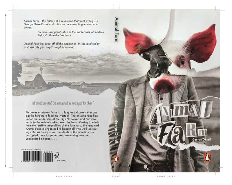 Penguin Random House design competition - Animal Farm, George Orwell