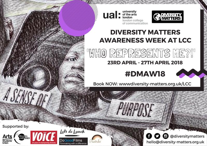 Diversity Matters Awareness Week at LCC 23rd - 27th April 2018