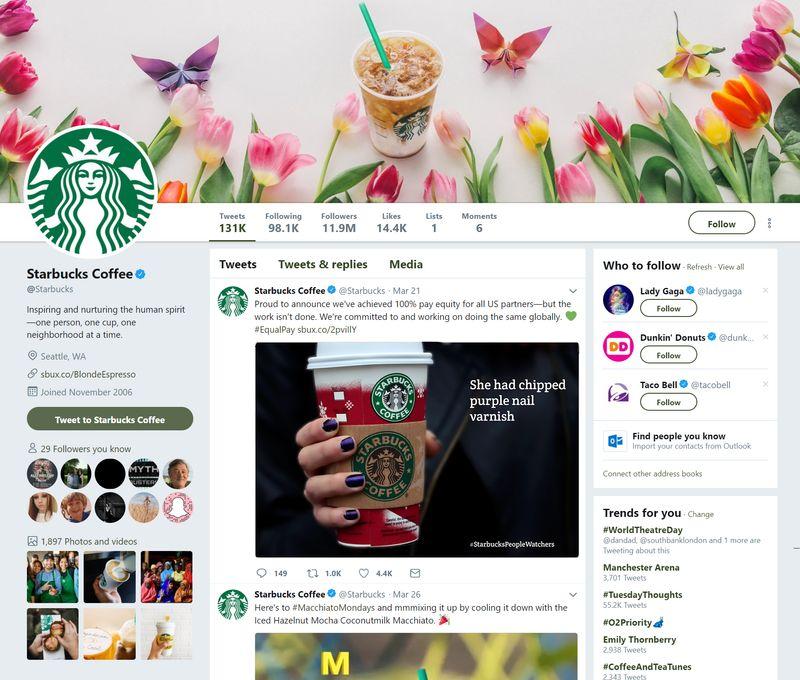 #StarbucksPeopleWatchers