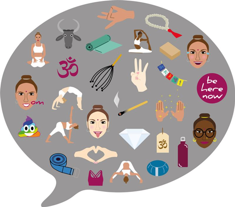 KulaMoji's Are Yoga Emojis That You Can Share on WhatsApp