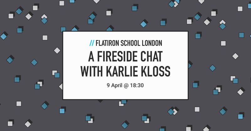 Fireside Chat With Karlie Kloss and Avi Flombaum, WeWork Moorgate