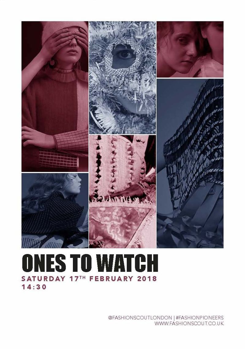 Ones To Watch Catwalk AW18  Invite