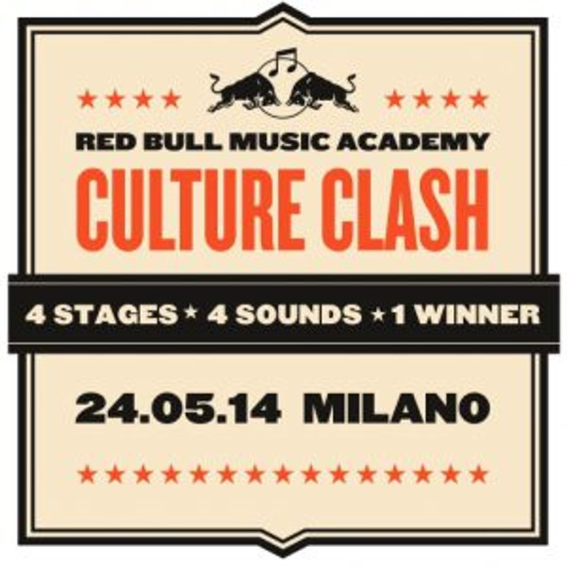 Red Bull Music Academy  Culture Clash - Milano