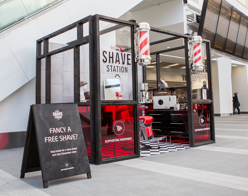 Brand activation with Movember
