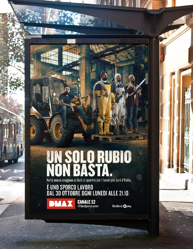 SPORCO LAVORO - Offline and OOH campaign management