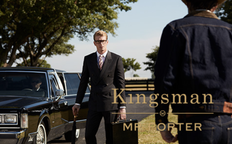 MR PORTER + Kingsman 2 (Content)