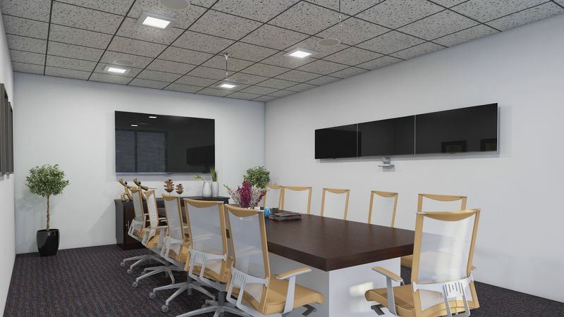 Conference Room 3D Interior Design Nashville
