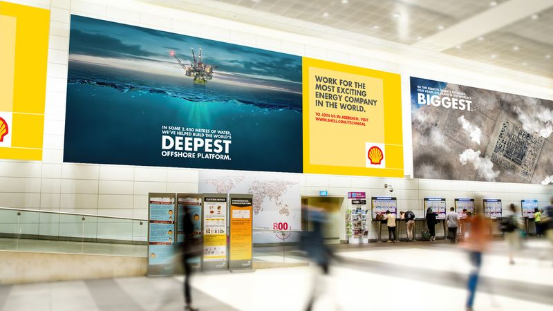 Shell Aberdeen Airport