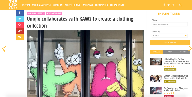 Uniqlo collaborates with KAWS to create a clothing collection