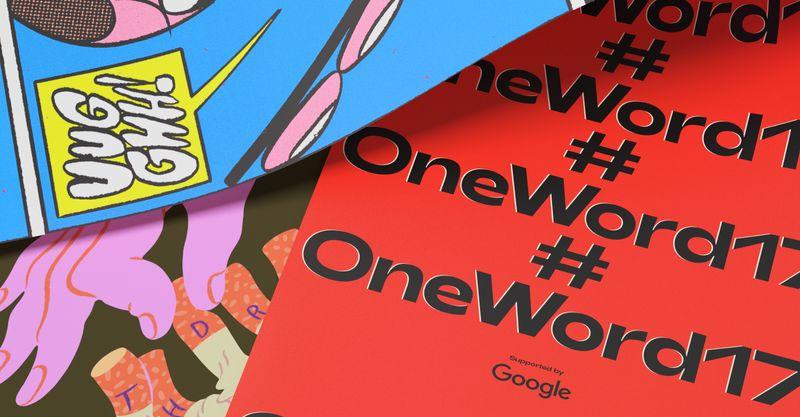 #OneWord17 x Google
