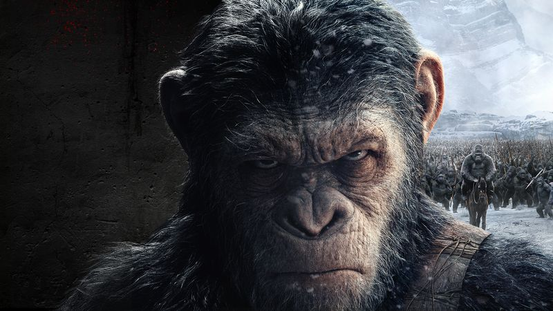 International social launch - War for the Planet of the Apes