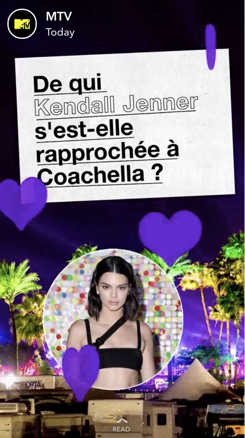 MTV Snapchat Discover - France