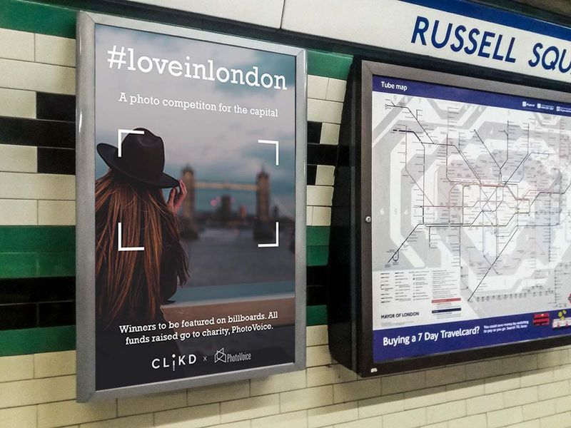 CLiKD x PhotoVoice Presents... Love in London