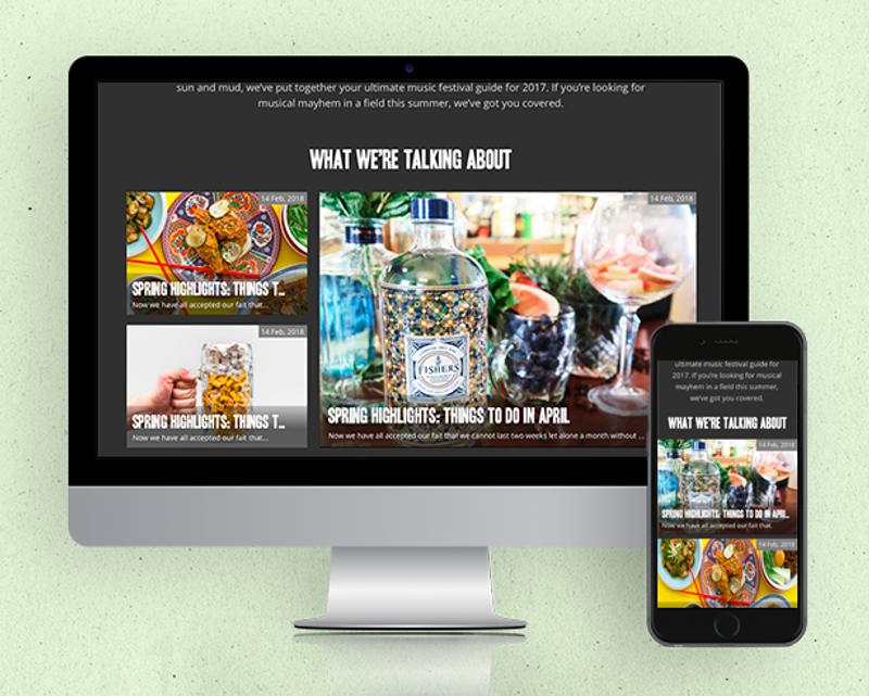 REVL Responsive Website