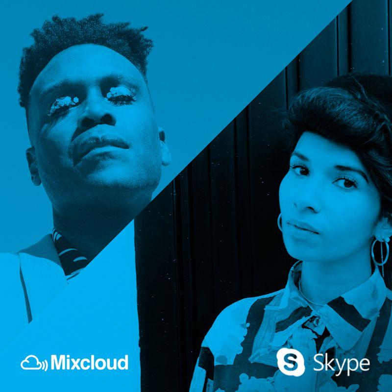 Skype x Mixcloud
