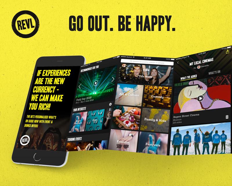 Consumer Events App UI & UX