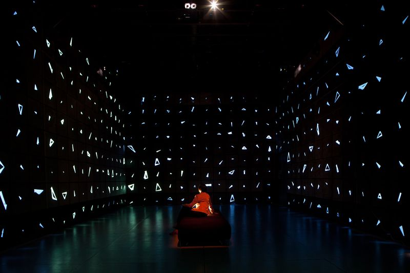 Communion: 360º audio-visual installation