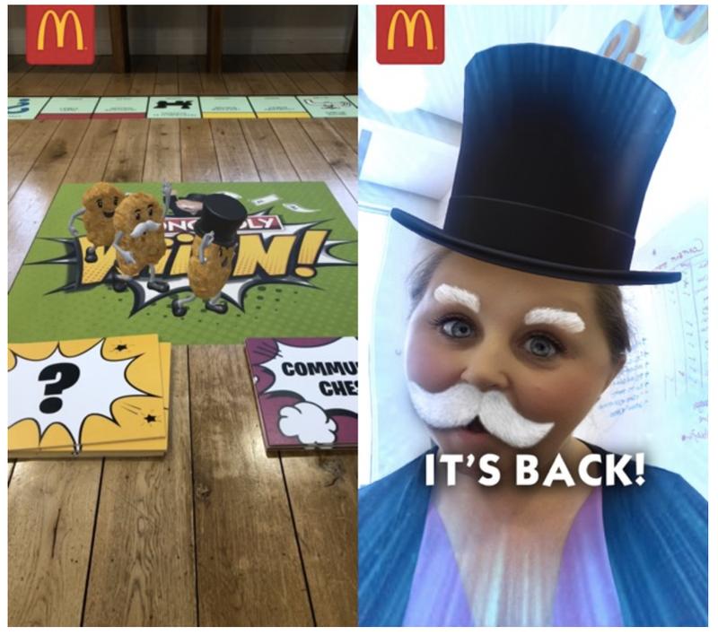 MONOPOLY Wiiiin! at McDonald's