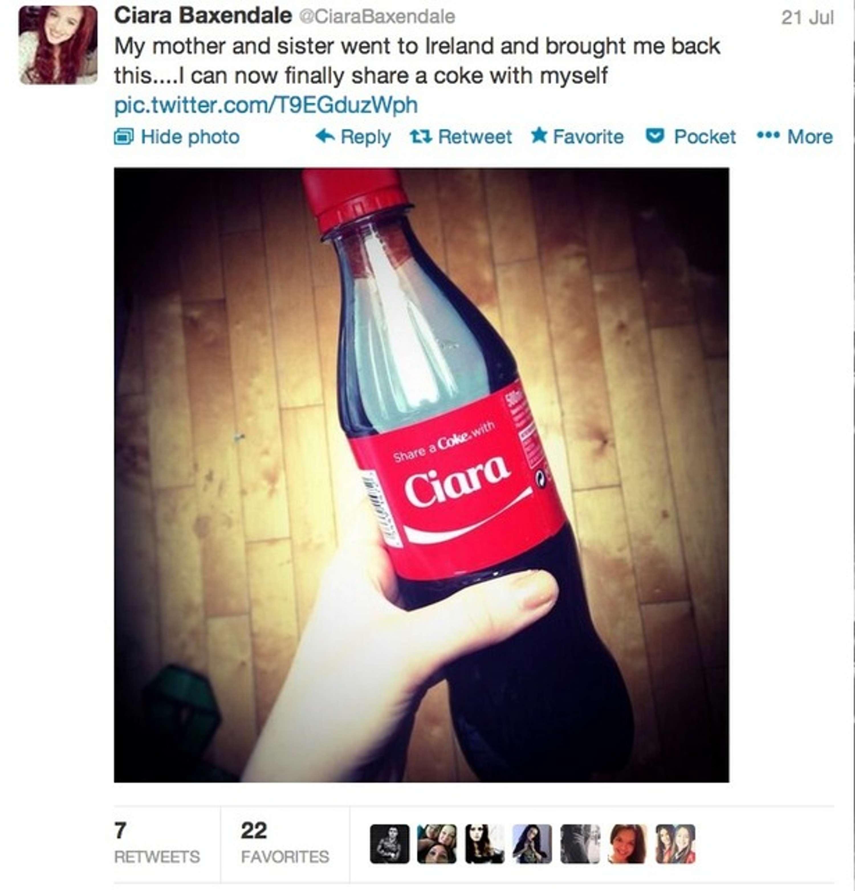Share a Coke Campaign   The Dots