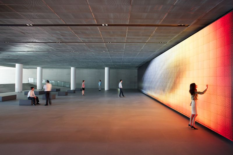 Hyundai Vision Hall: a series of 18 large-scale video artwork