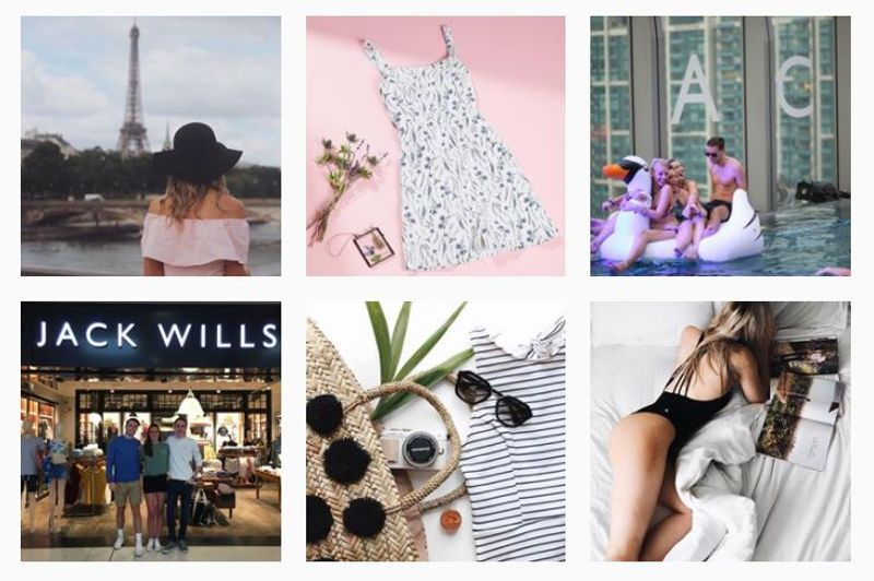 Jack Wills Instagram