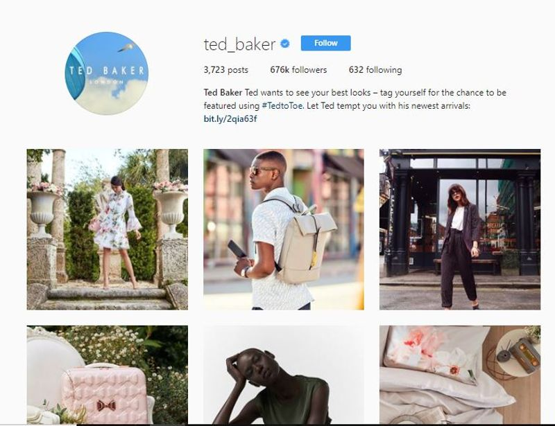 Ted Baker Social Media Strategy