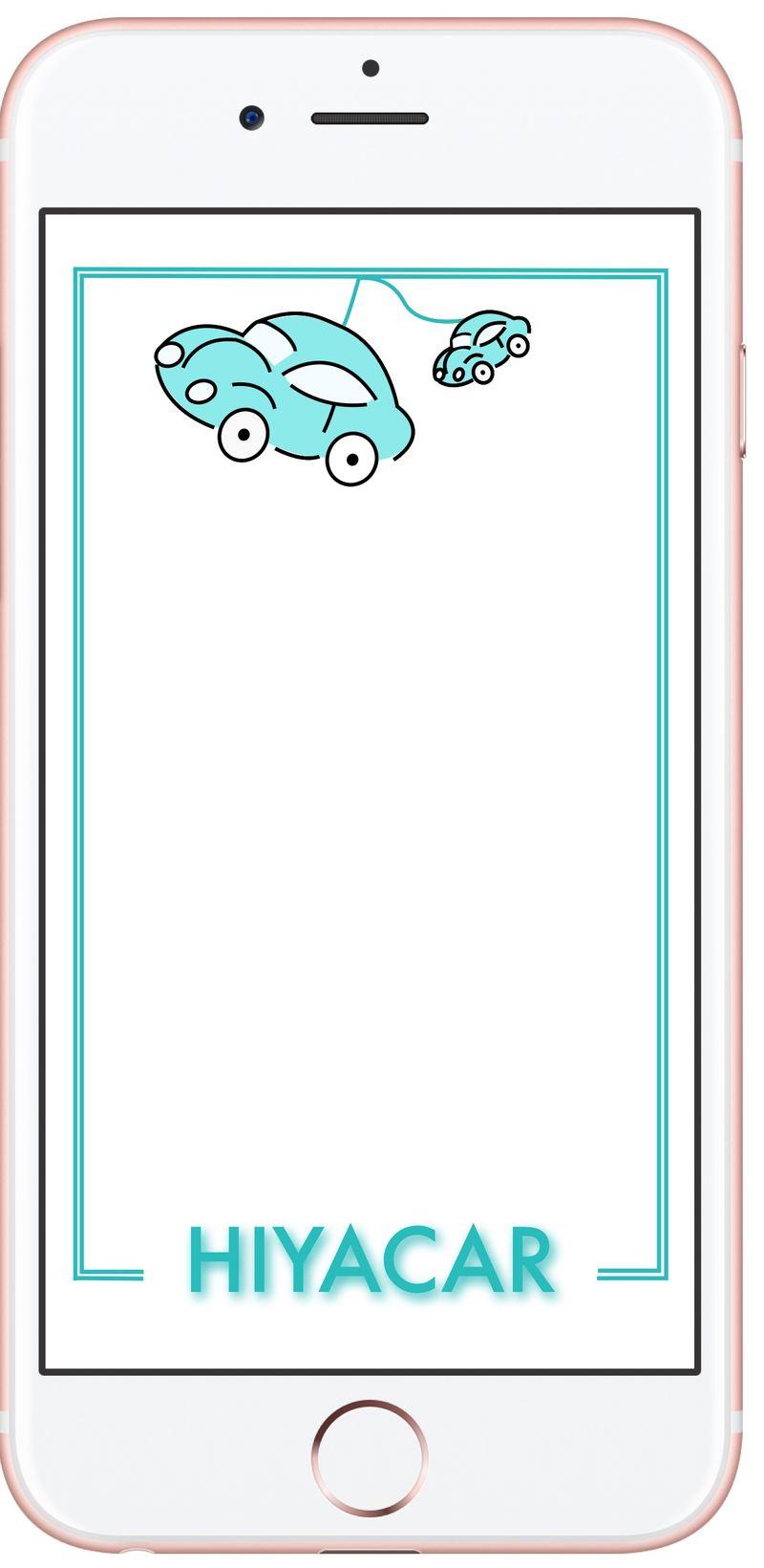 Hiya Car - Snap Chat Filters