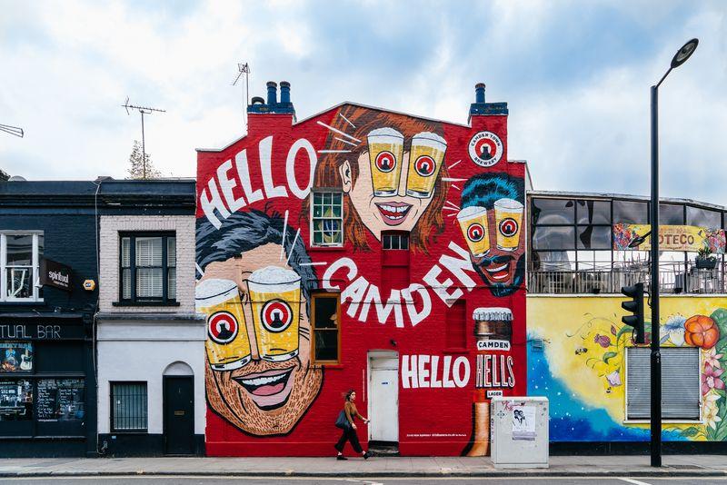 Hells Lager, Camden Town