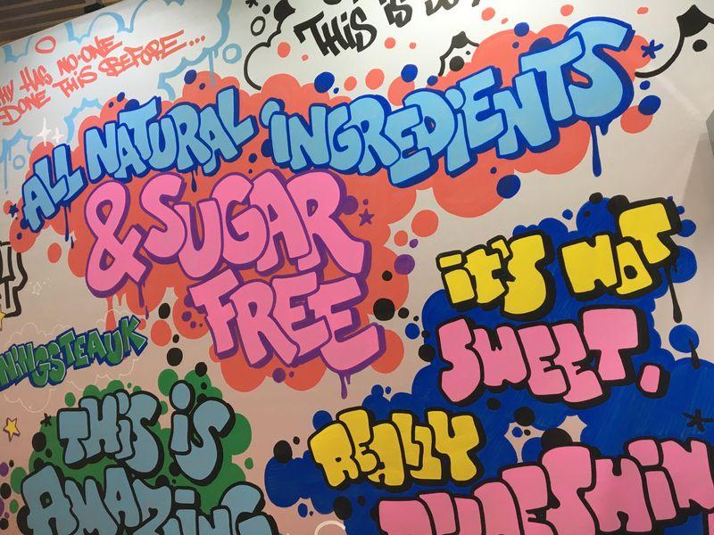 Graffiti Customisation for Twinings