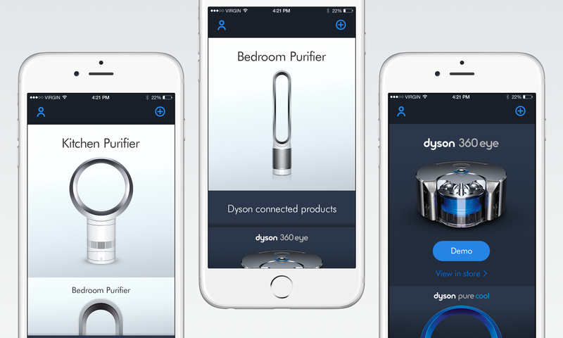 Dyson Connected Products