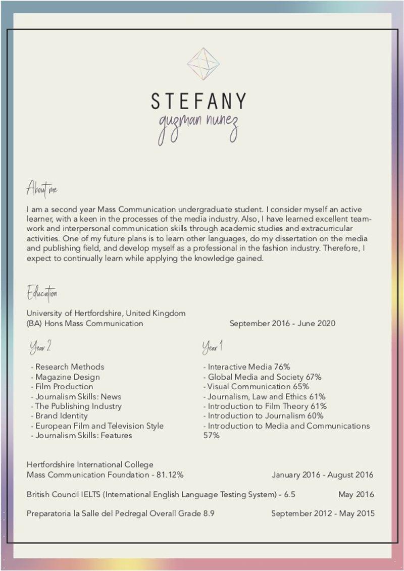 Creative CV - Design