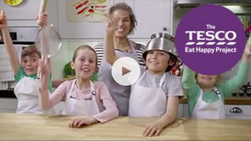 Tesco Eat Happy Project: Let's Cookalong