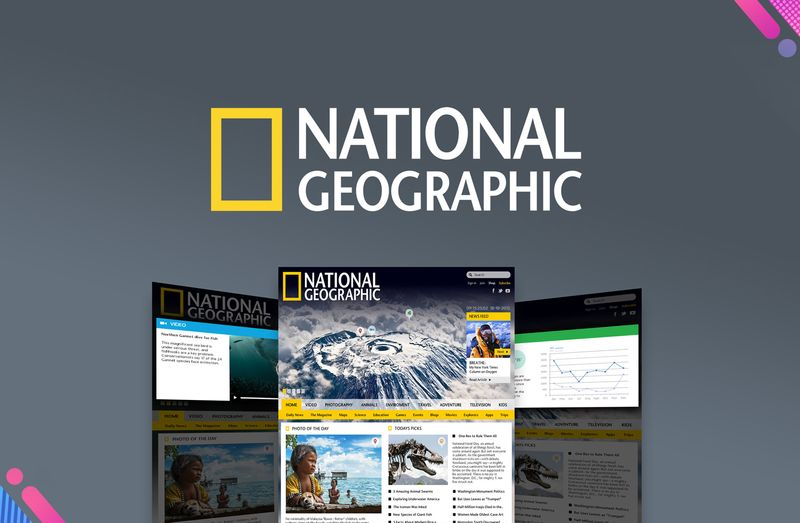 National Geographic Concept