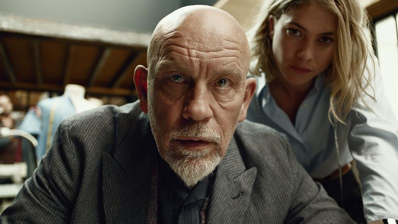 John Malkovich x Squarespace at The Big Game