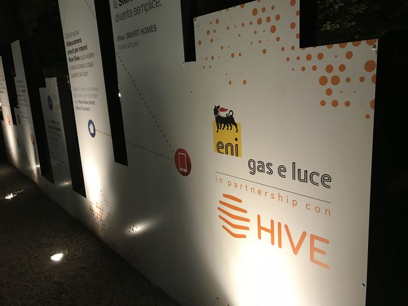 Hive launch in Italy with Eni Gas e Luce