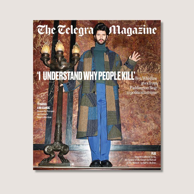 The Telegraph Magazine Cover