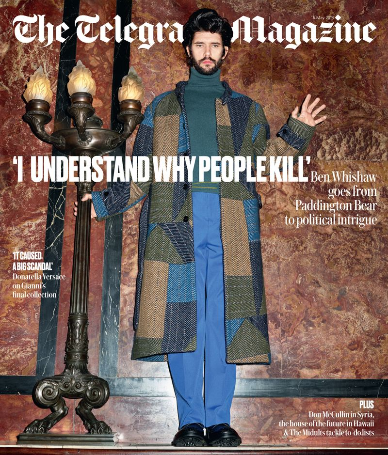 Telegraph Magazine x Ben Whishaw x Frederike Helwig