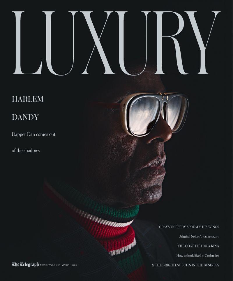 Telegraph Luxury x Dapper Dan x Martin Scott Powell