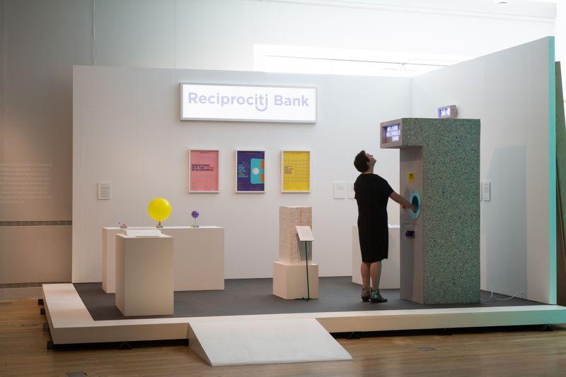 RECIPROCITI BANK - INTERACTIVE INSTALLATION FOR HE DESIGN MUSEUM