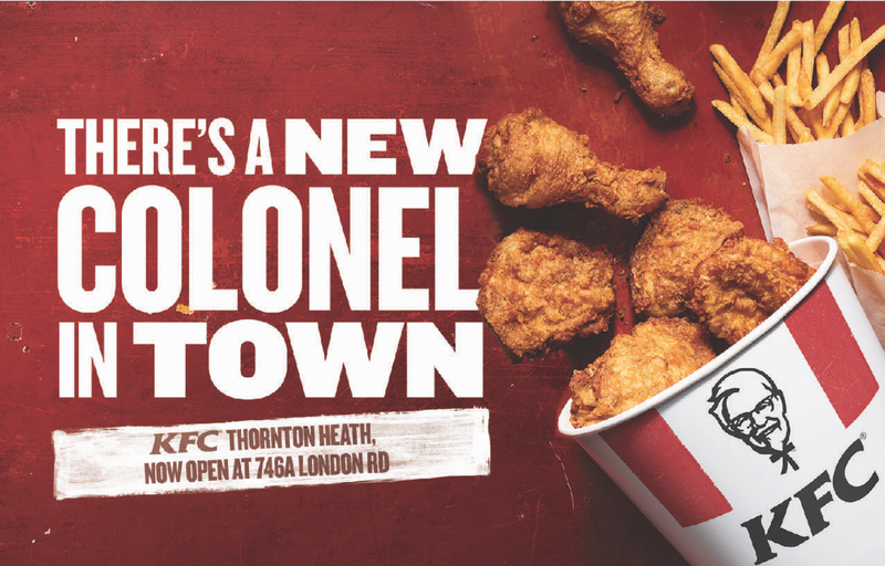 KFC local store marketing