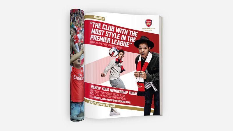 Arsenal Membership 13/14